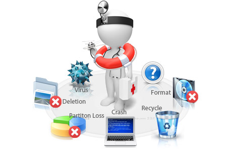 EaseUS Data Recovery Technician is a great data recovery solution for all data lost scenarios.