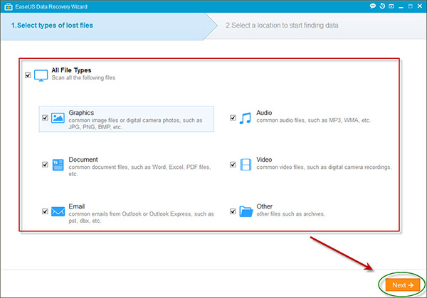 recover lost data in simple steps using a free data